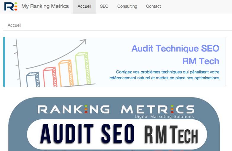Accueil_My_Ranking_Metrics_Plateforme_SEO