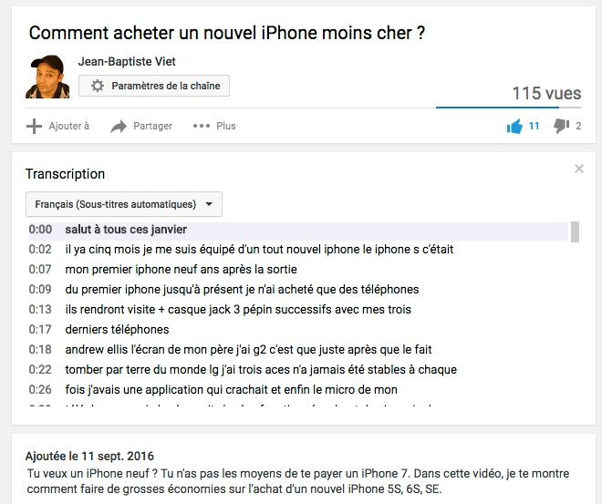 comment acheter un nouvel iphone moins cher youtube. Black Bedroom Furniture Sets. Home Design Ideas